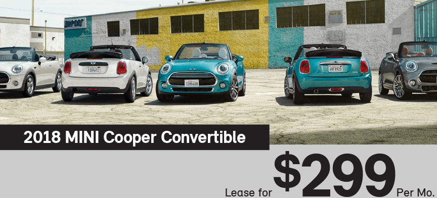 Lease A Mini Convertible For Only 299 Per Month At Mini Of