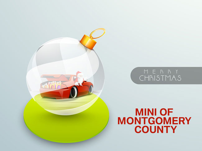 Merry Christmas from all of us at MINI of Montgomery County - MINI